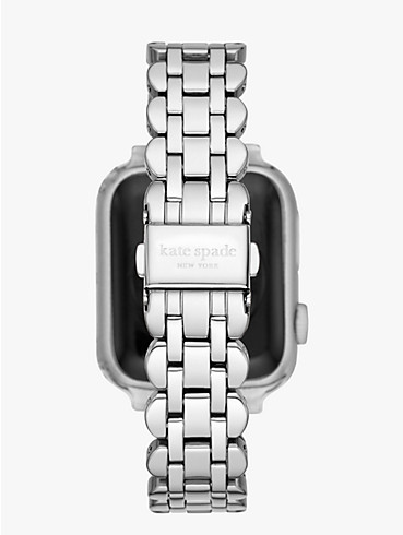 scallop link stainless steel 38/40mm bracelet band for apple watch®, , rr_productgrid