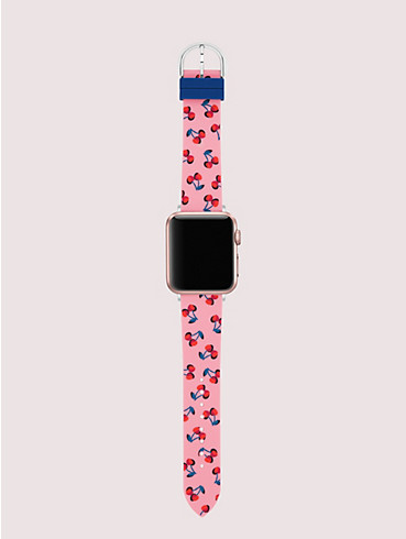 Cherries Silikonarmband für Apple Watch®, 38/40 mm, , rr_productgrid