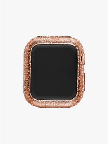 Rahmen in Roségoldfarben mit Glitzer für Apple Watch®, 38/40mm, , rr_productgrid