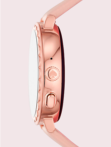 blush leather scallop smartwatch 2, , rr_productgrid