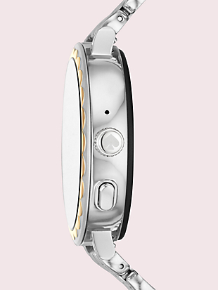two-tone stainless steel scallop smartwatch 2 by kate spade new york hover view