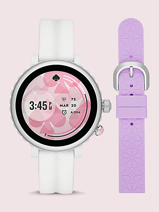 sport smartwatch gift set by kate spade new york non-hover view