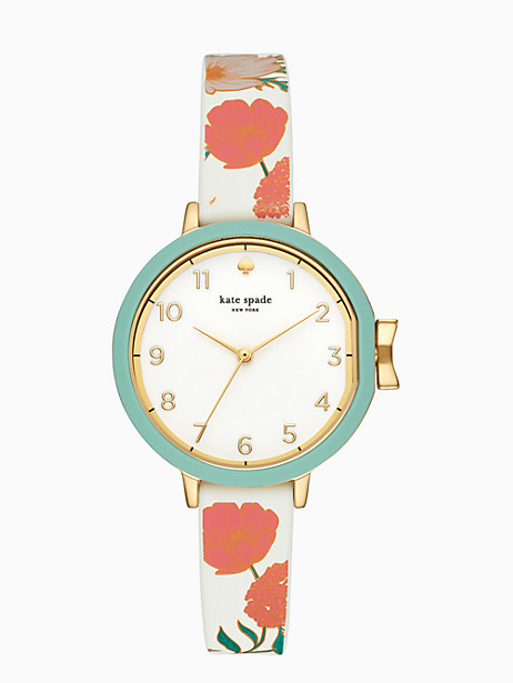 silicone park row watch by kate spade new york