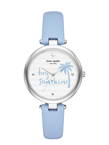blue varick watch  by kate spade new york