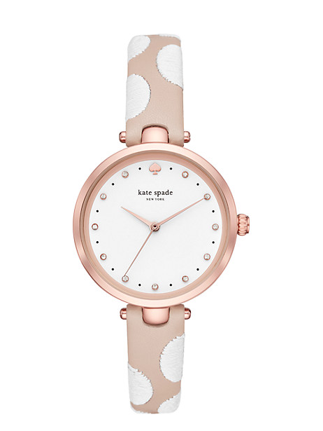 white dot holland watch by kate spade new york