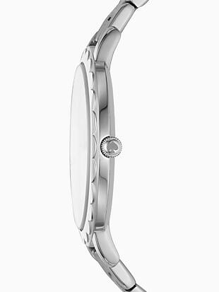 morningside scallop stainless steel bracelet watch by kate spade new york hover view