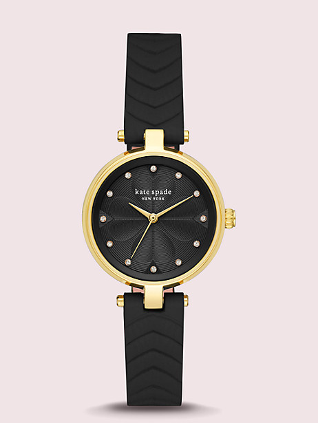annadale quilted leather watch by kate spade new york
