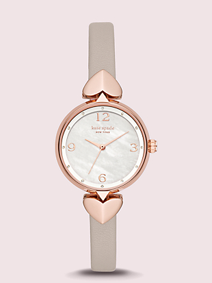 hollis leather watch by kate spade new york non-hover view
