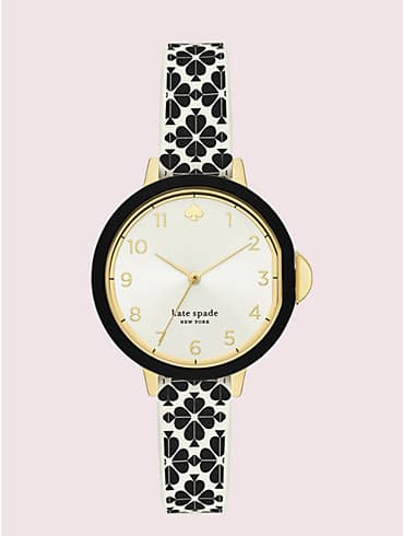 park row spade flower silicone watch, , rr_productgrid
