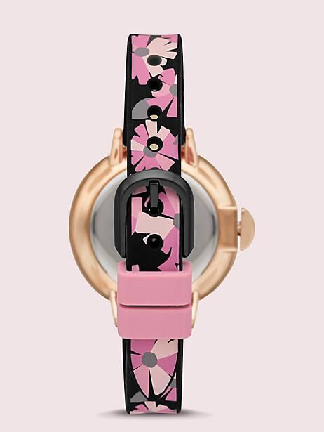 Park row flower-print silicone watch | Kate Spade New York