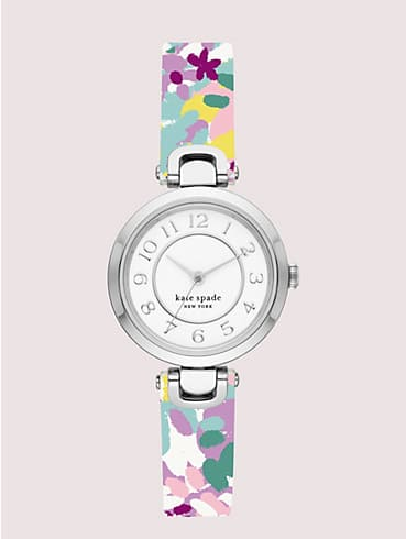rainey park white & lilac floral reversible watch, , rr_productgrid