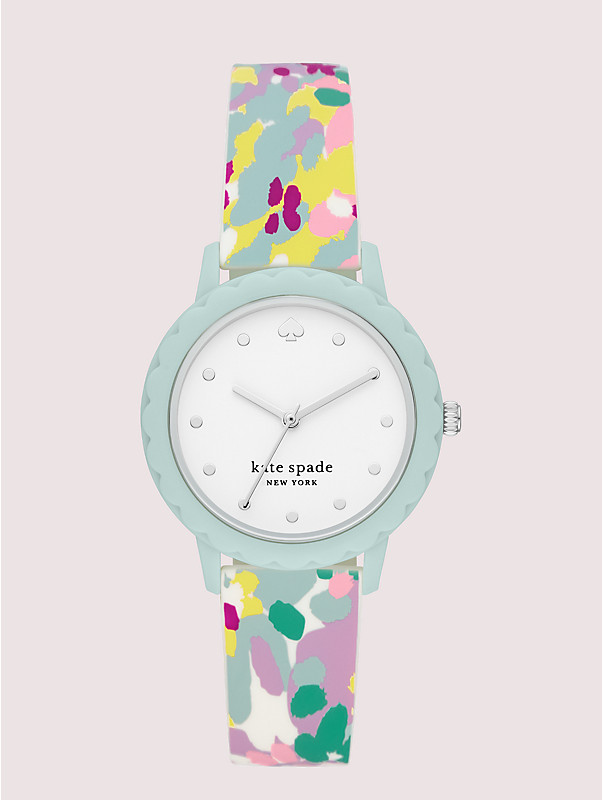 morningside scallop multicolored silicone watch, , rr_large