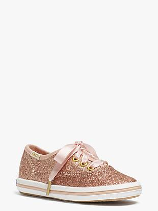 keds kids x kate spade new york champion glitter toddler sneakers  by kate spade new york hover view