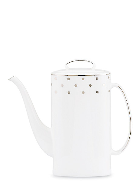 larabee road platinum coffeepot by kate spade new york
