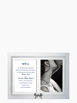 grace avenue double invitation frame by kate spade new york non-hover view