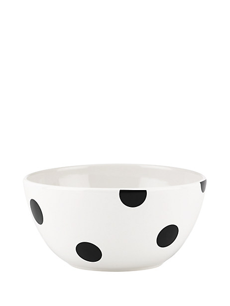deco dot soup/cereal bowl by kate spade new york