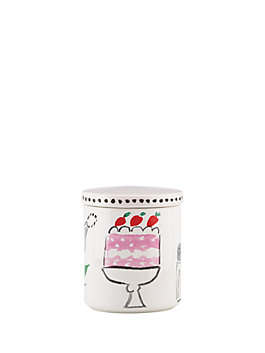pretty pantry large canister, multi, medium