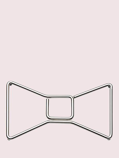deco dot bow trivet by kate spade new york