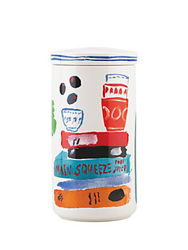 pretty pantry tall canister, multi, medium