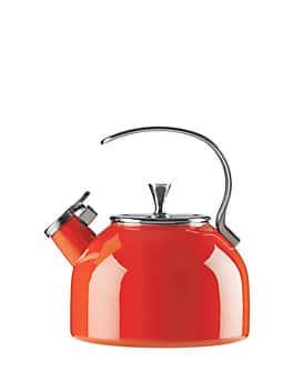 tea kettle, red, medium