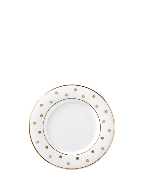 larabee road gold saucer by kate spade new york