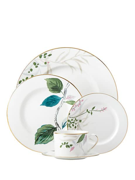 birch way 5 piece place setting by kate spade new york