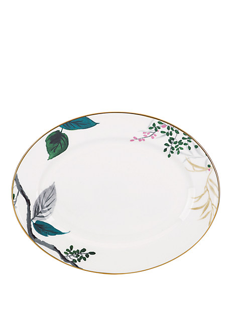 "birch way 13"" oval platter by kate spade new york"
