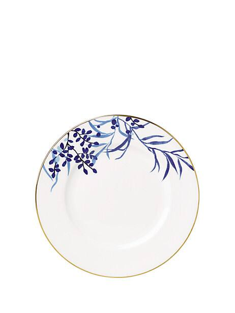 birch way navy dinner plate by kate spade new york