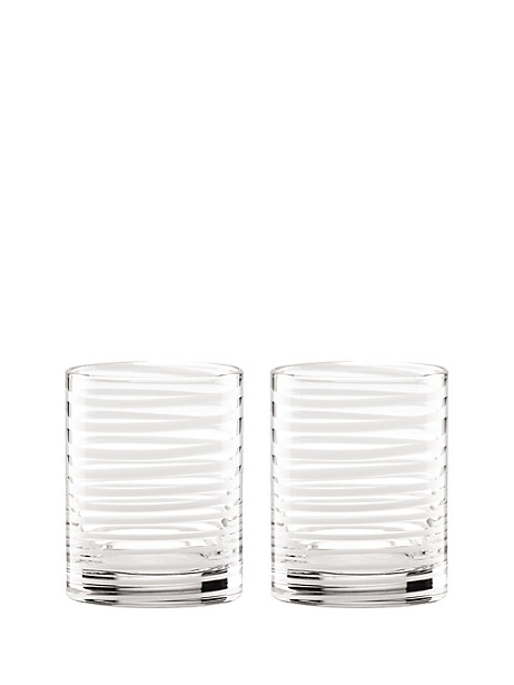 charlotte street double old fashioned set by kate spade new york