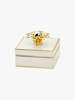 keaton jewelry box, cream, medium