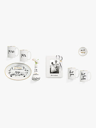miss to mrs ring dish by kate spade new york hover view