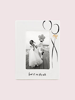 bridal 4x6 frame, white, medium