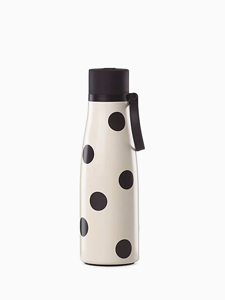 on the go deco dot water bottle by kate spade new york