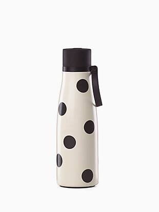 on the go deco dot water bottle by kate spade new york hover view