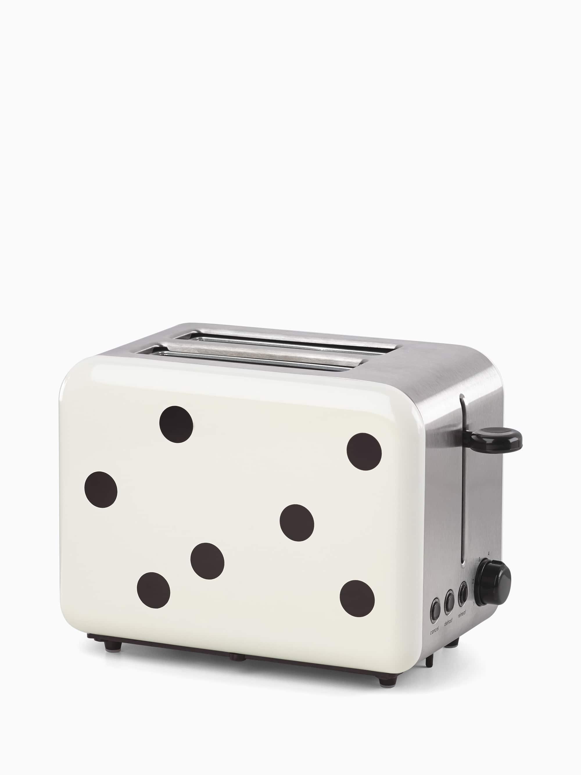 Kate spade deco dot two slice toaster
