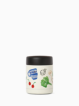 on the go pretty pantry insulated container, multi, medium