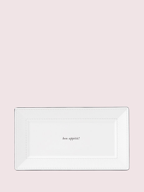 york avenue hors d'oeuvre tray by kate spade new york