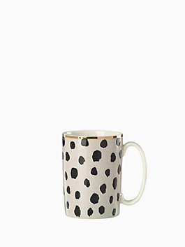 flamingo dot mug, multi, medium