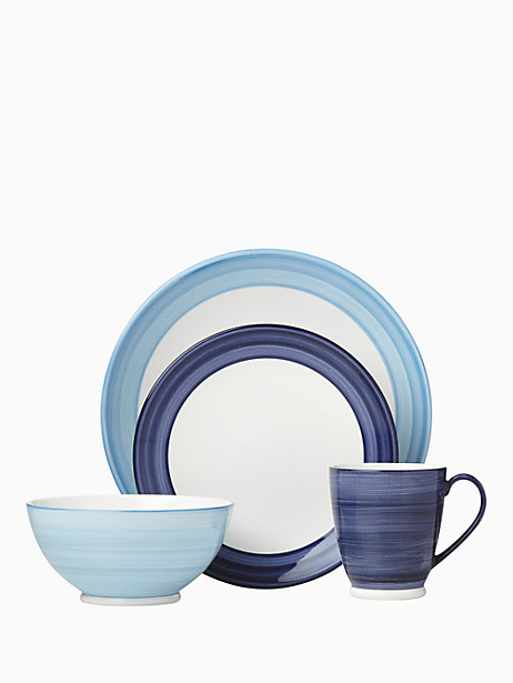 Charles Lane Indigo 4 Piece Place Setting by kate spade new york