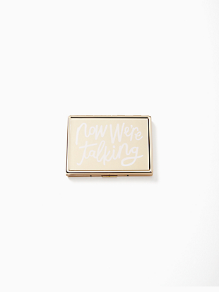 all that glistens now we're talking id holder by kate spade new york non-hover view