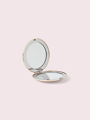 all that glistens perfectly polished compact by kate spade new york hover view