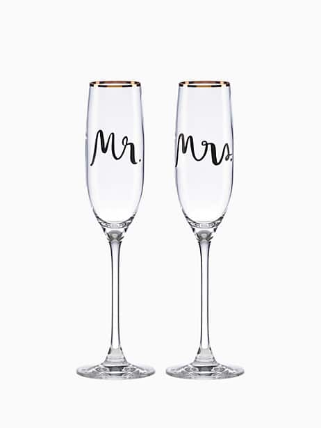 Bridal Party Flute Pair by kate spade new york