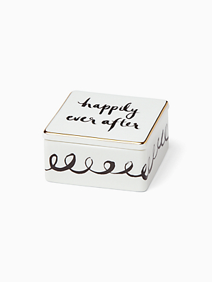 Bridal Party Keepsake Box by kate spade new york non-hover view