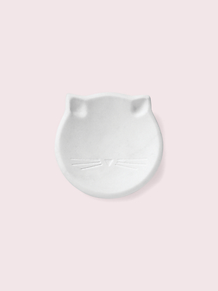 cat ring dish by kate spade new york non-hover view