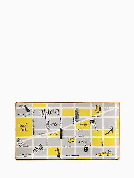 nyc map serving tray by kate spade new york