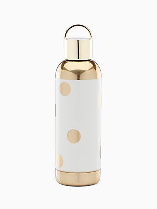 gold dot decal tumbler by kate spade new york non-hover view