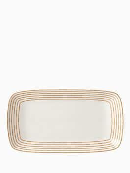 sienna lane hor d'oeuvres tray, white, medium