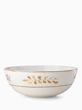 sienna lane serving bowl, white, medium