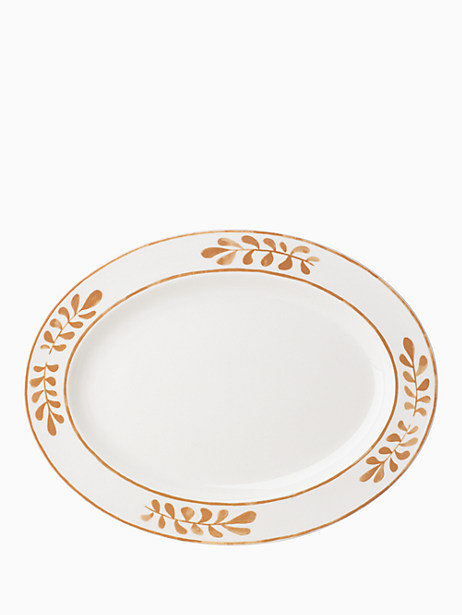 "sienna lane 16"" oval platter by kate spade new york"