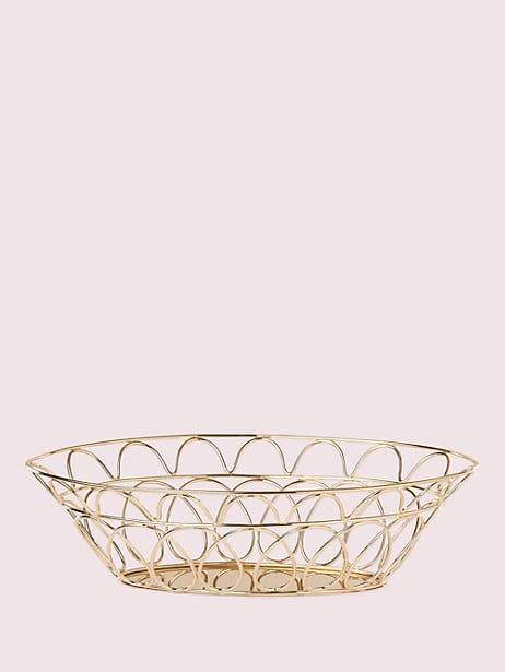 arch street bread basket by kate spade new york